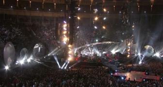 Coldplay 2011 Album Launch